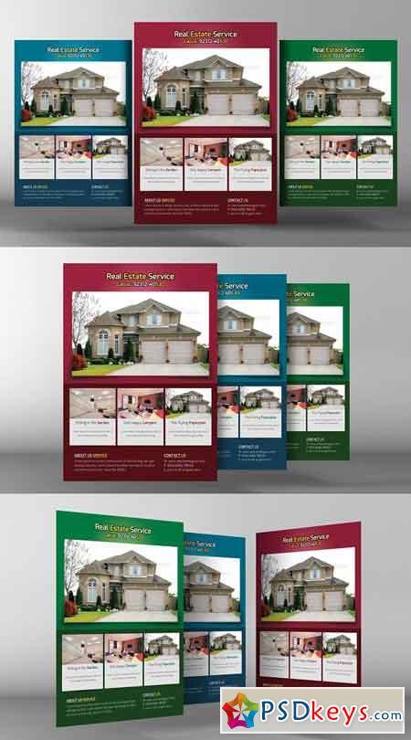 Real Estate Flyer 2246435