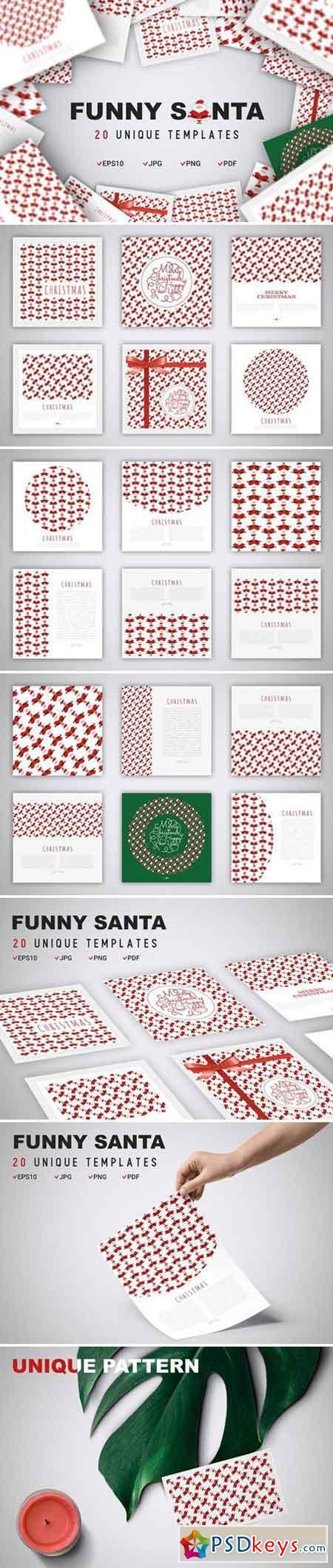 Funny Santa Concept 2113500