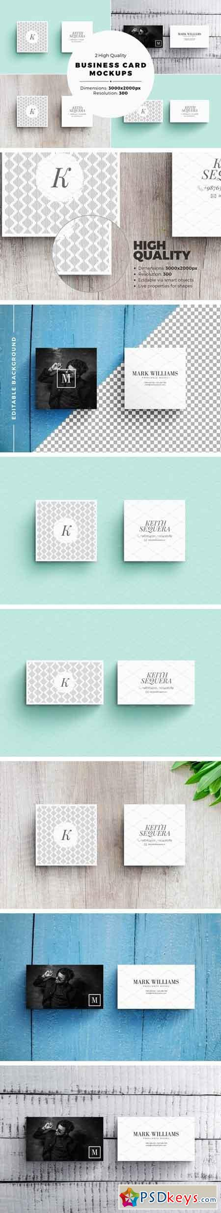 Business Card MockUps 2000526