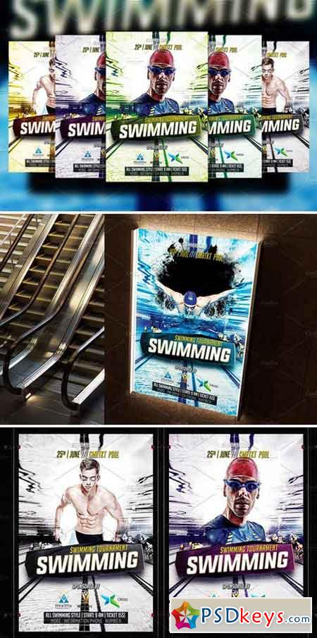 Swimming Flyer Template 2185737