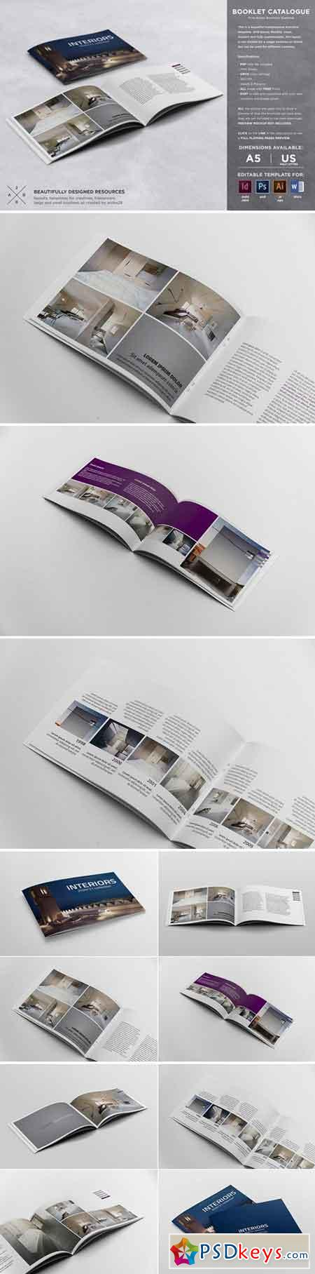 Booklet Catalogue Template 886053