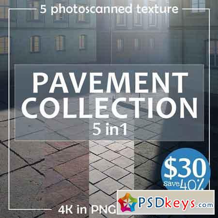 Photoscanned pavement collection 1914220