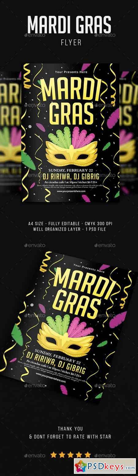 Mardi Gras Flyer Vol.4 21351956