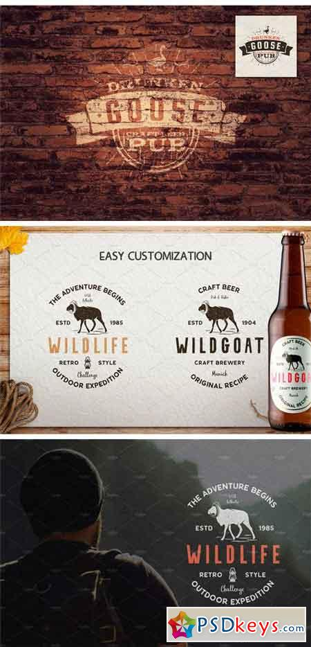 12 Wild Animals Badges [Part 2] 2194488