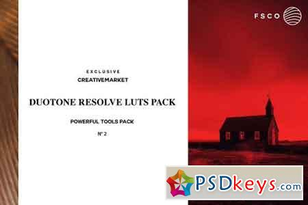 DUOTONE RESOLVE N°2 Luts BUNDLE PACK 2106697