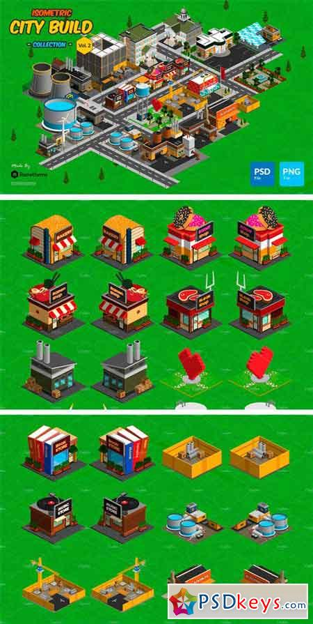 Isometric City Build Collection v.2 2222920