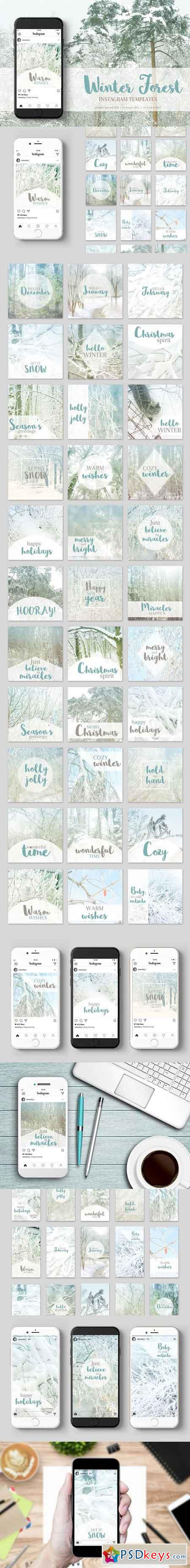 Instagram Winter Pack 2118885