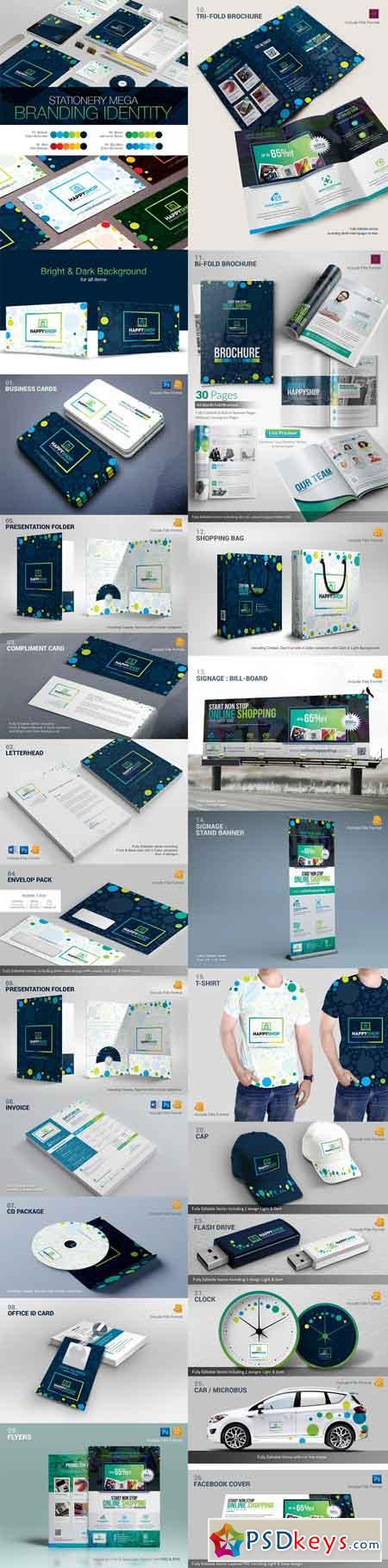 Business Mega Branding Identity 2124090