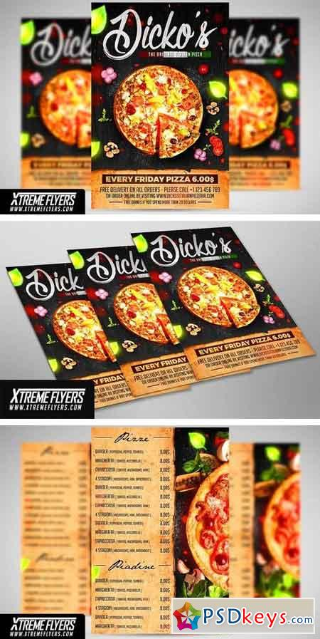 Pizza Flyer Template 1999982