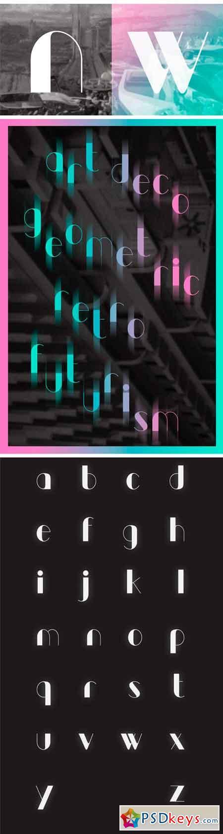 Kraft Typeface