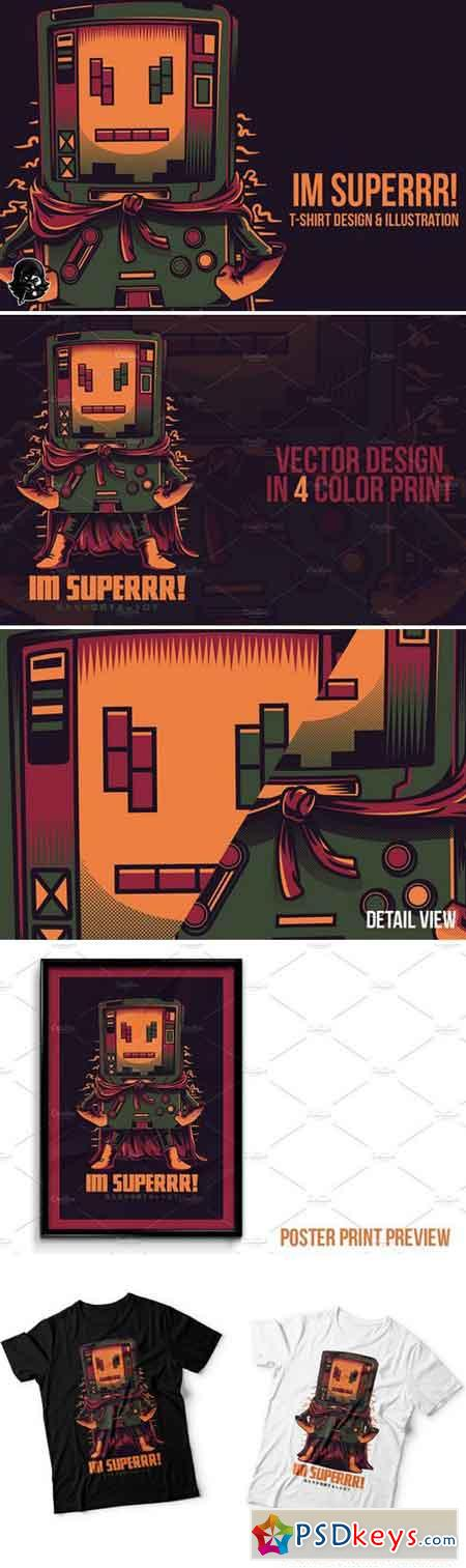 Im Superrr! Illustration 2227460
