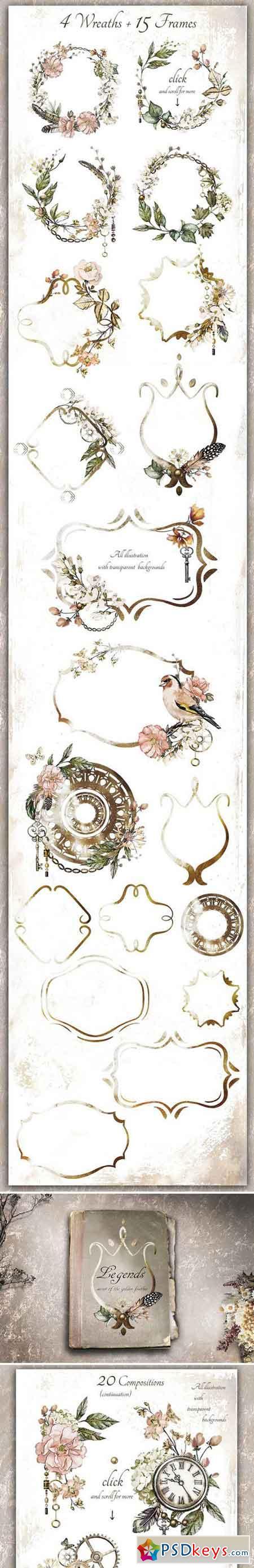 Watercolor collection - Legend 2227419