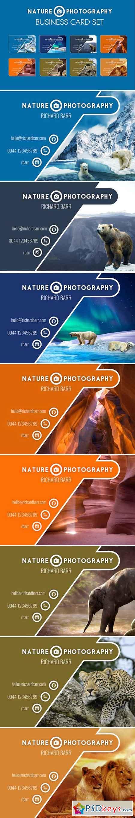 Nature Photography Business Card Set 2204748