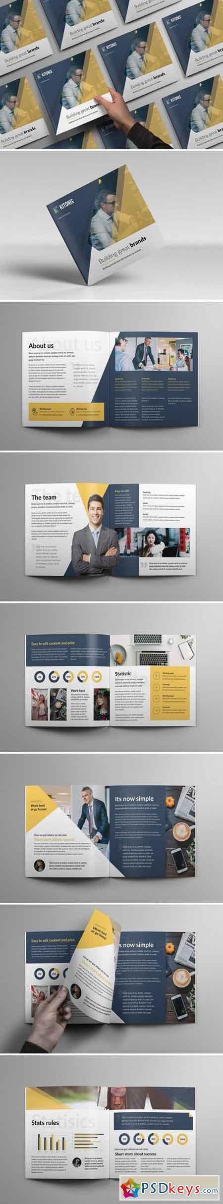 Modern Square Business Brochure 2204209