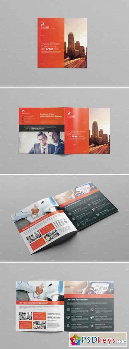 Square Bi-Fold Brochure 2203922