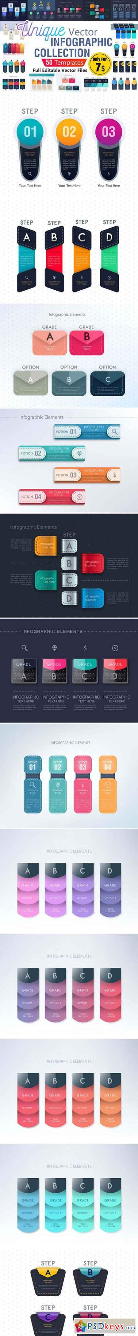 Infographic Template Collection - AI 2184985
