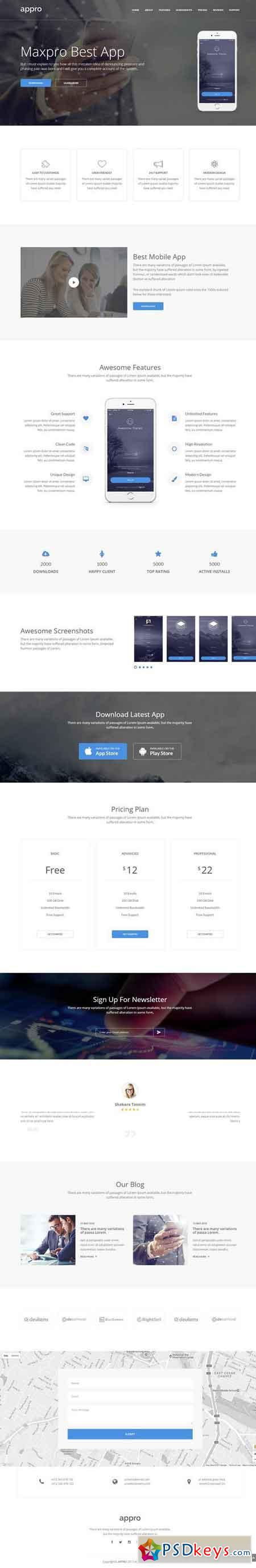 Appro – Multipurpose HTML Template 1999086