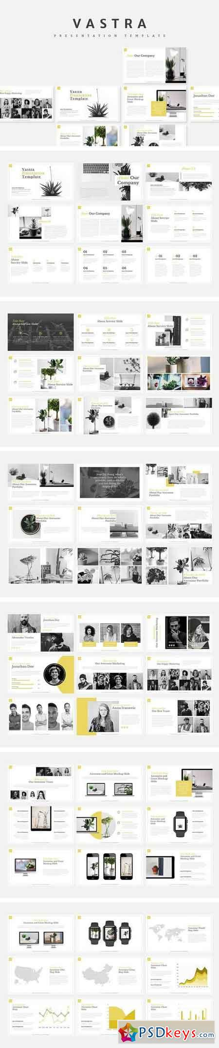 Vastra Creative Powerpoint Template 1949105