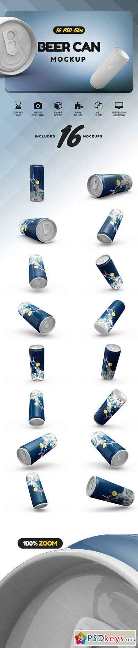 Beer Can Mock-up 2085774