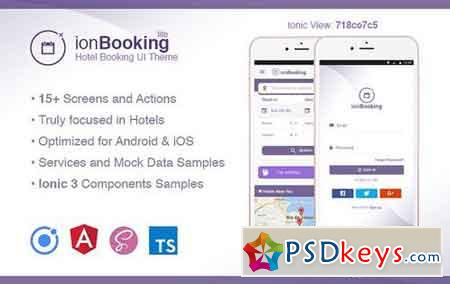 Ionic 3 Hotel Booking Theme Lite 1948155
