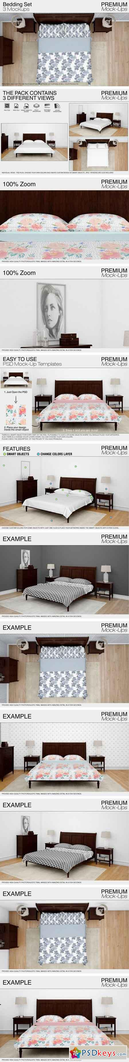 Bedding Mockup Set 2095846