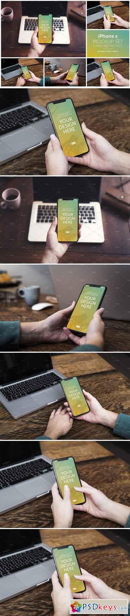 iPhone x mockup 2231880