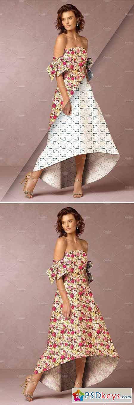 Women's Dress Mockup 12 2227784
