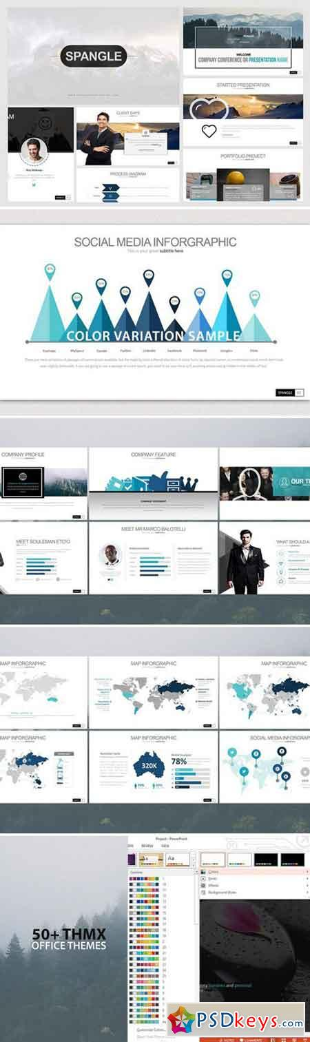 Spangle Powerpoint Template 2119281