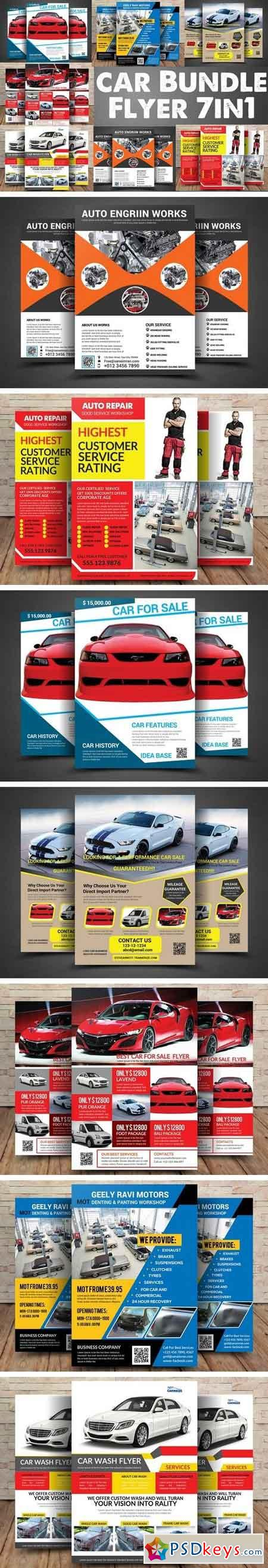 Car Bundle 7in1 Flyer 2094357