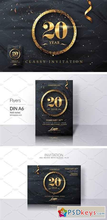 Classy Birthday Invitation 1947791