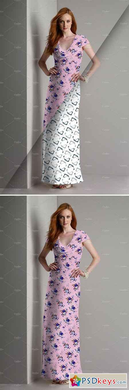 Women's Dress Mockup 17 2227791