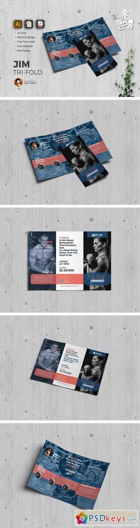 JYM Tri-Fold 1509800
