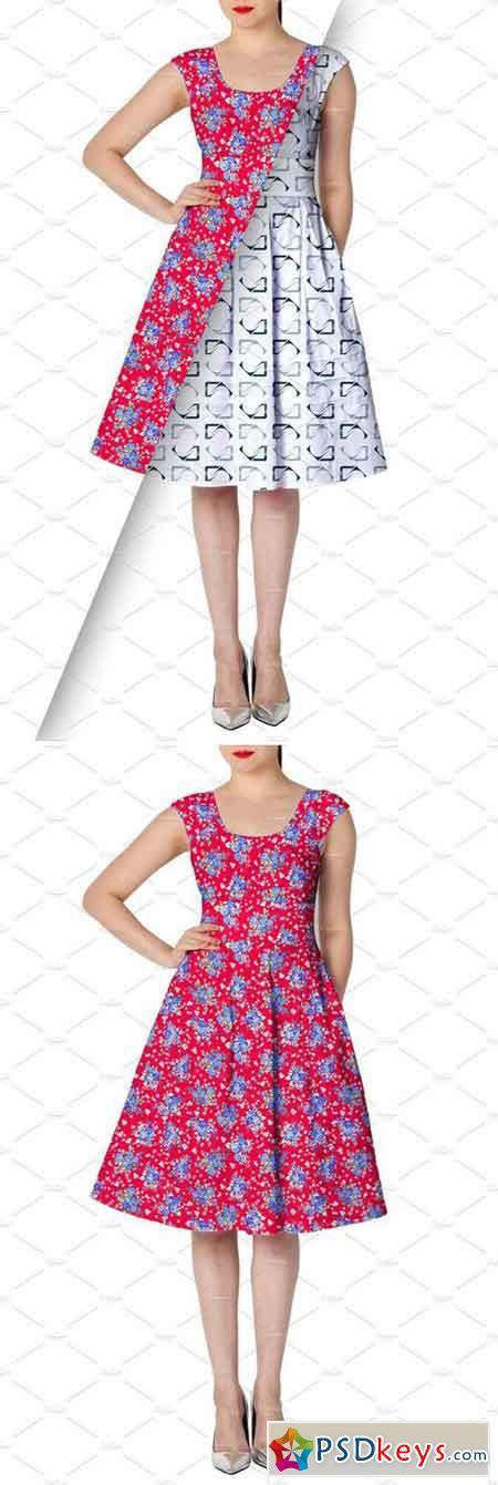 Women's Dress Mockup 18 2227801