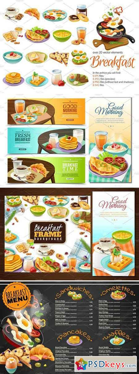 Breakfast Menu Set 2230847