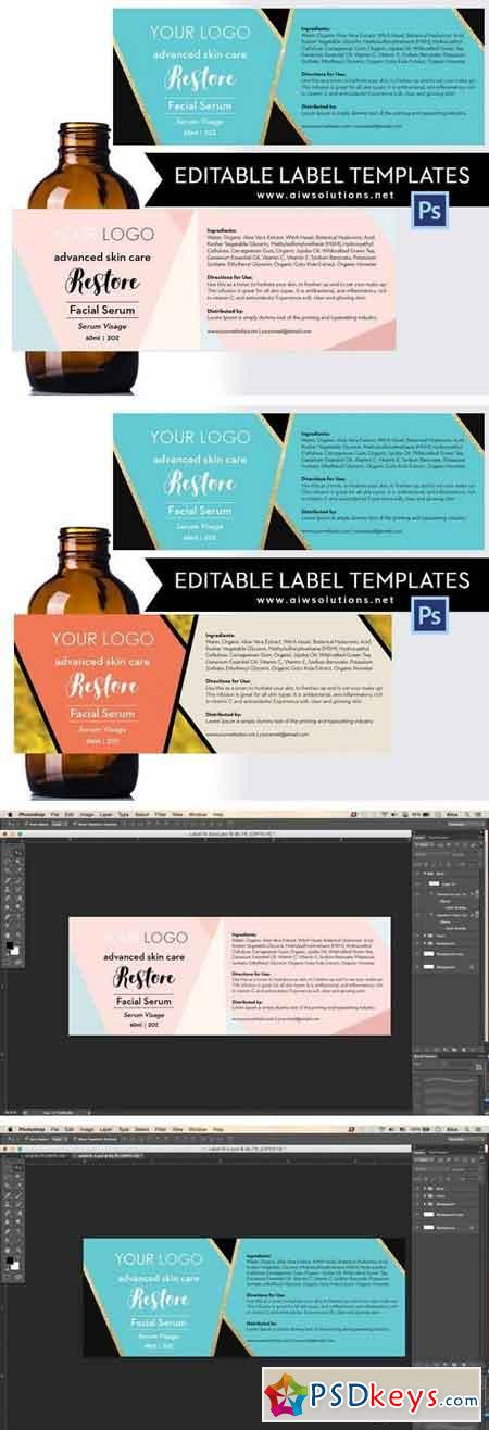 Product Label Template-ID18 1522927 » Free Download
