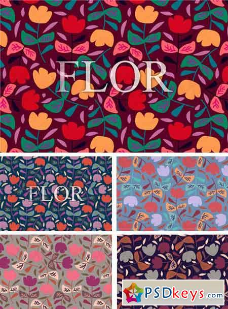 Floral Fifties Patterns 2198315