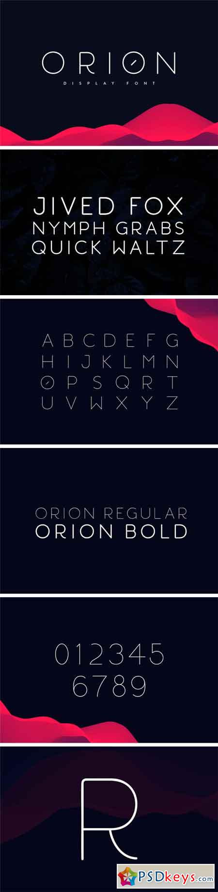 Orion Display Font 2270906