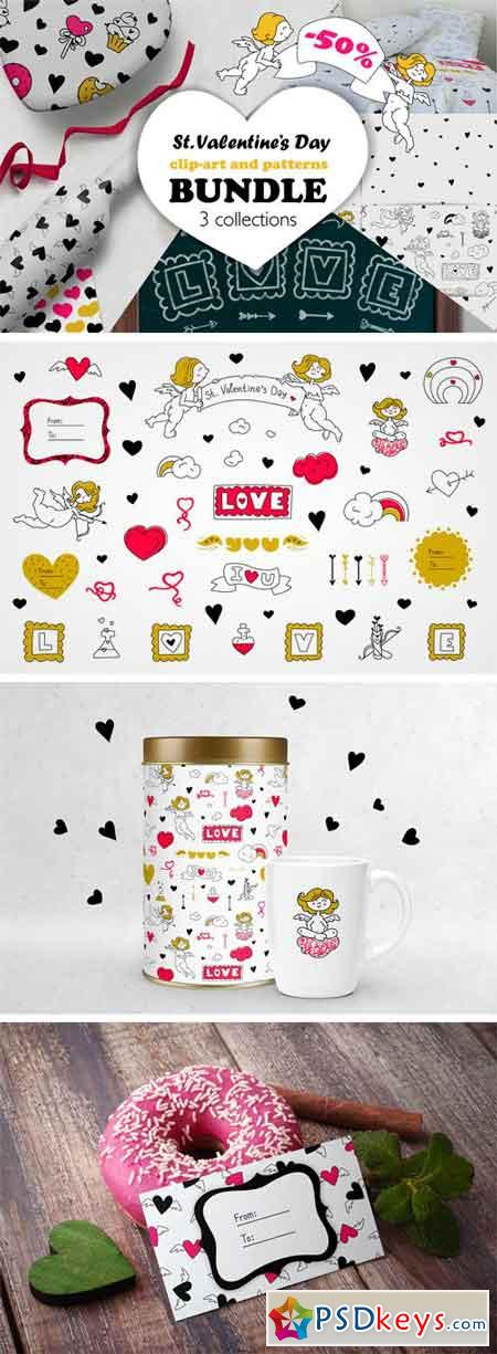 Valentine's Day Graphics BUNDLE 2270165