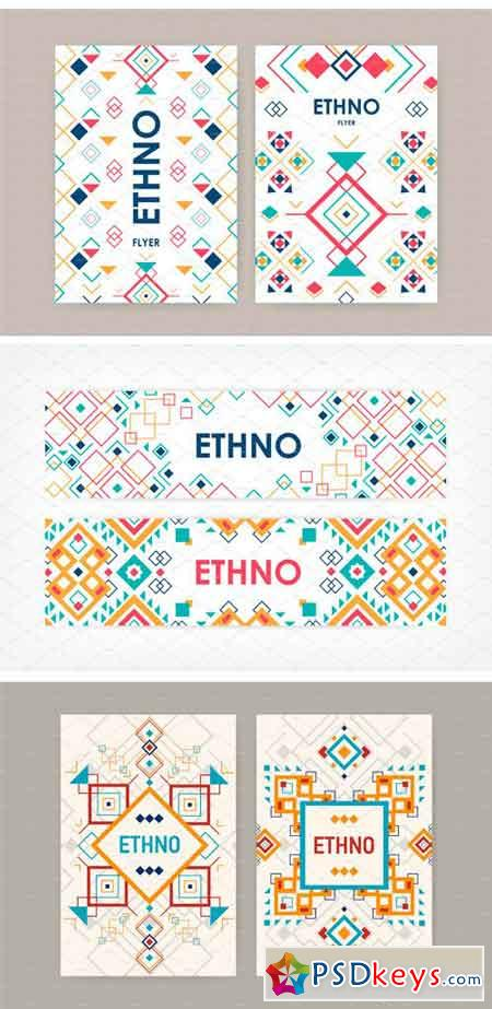 Geometric Elements in Ethnic Style 2169943
