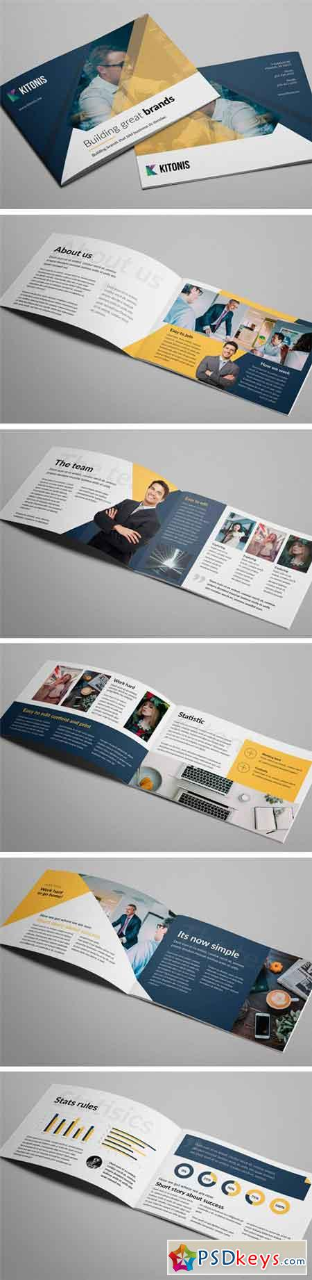 Modern Business A5 Brochure 2182322
