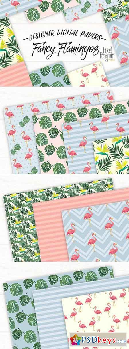 Fancy Flamingos Patterns 2257917