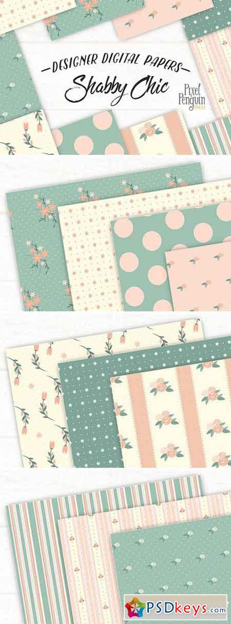 Shabby Chic Patterns 2258141