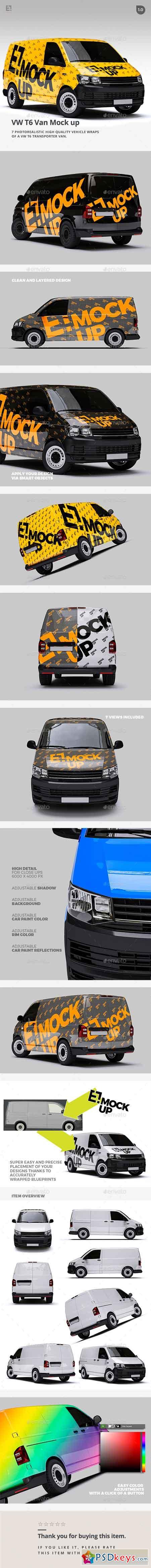 VW T6 Van Mock up 21348335