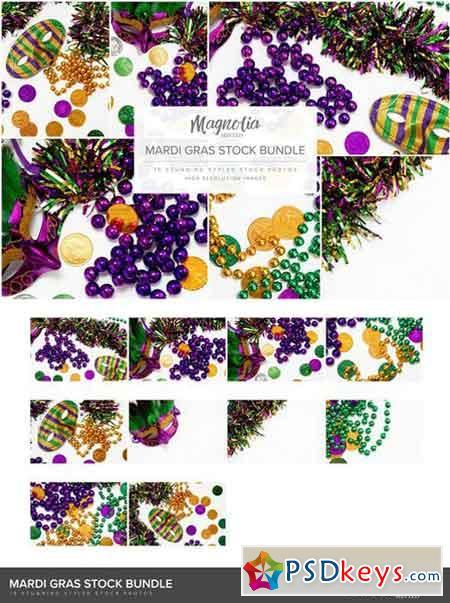 Mardi Gras Stock Photo Bundle 2231441