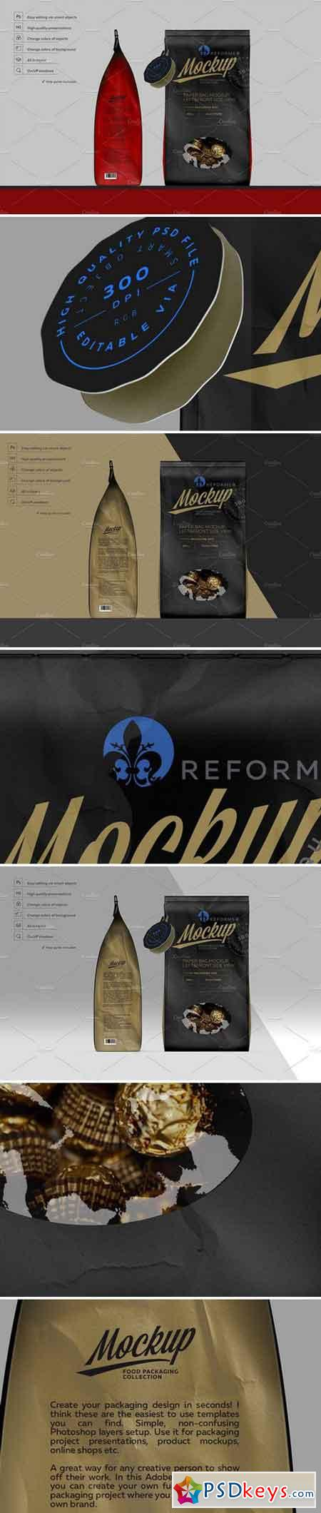 PAPER BAG MOCKUP LEFT FRONT SIDE 2256554