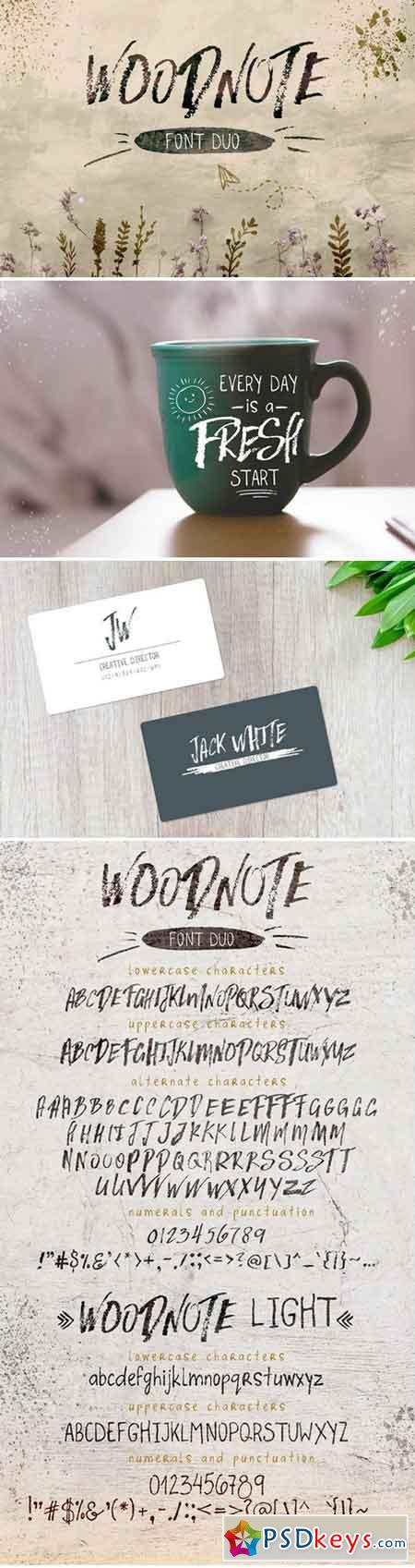 Woodnote Font Duo 2255515