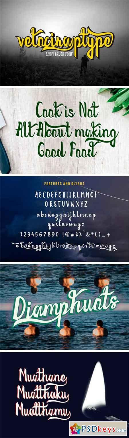 Velociraptype Font 1345800