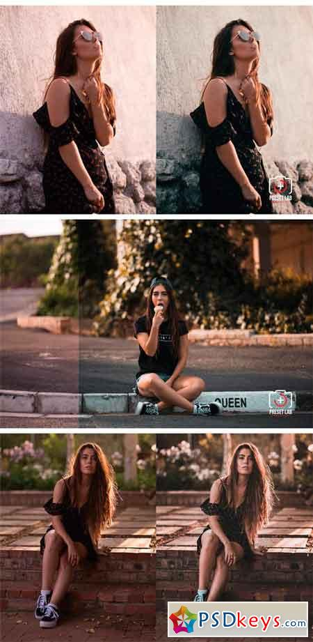 5 Sunset Lightroom Presets 2285911