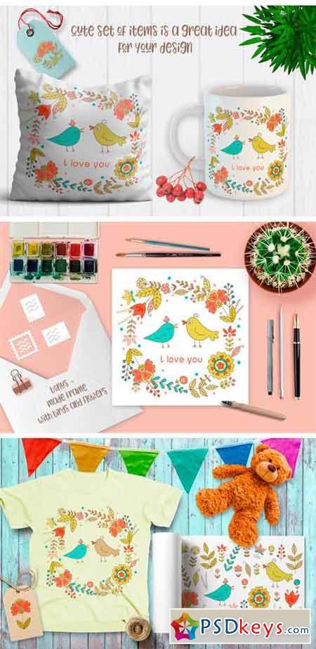 Cute Doodle Set 2182028