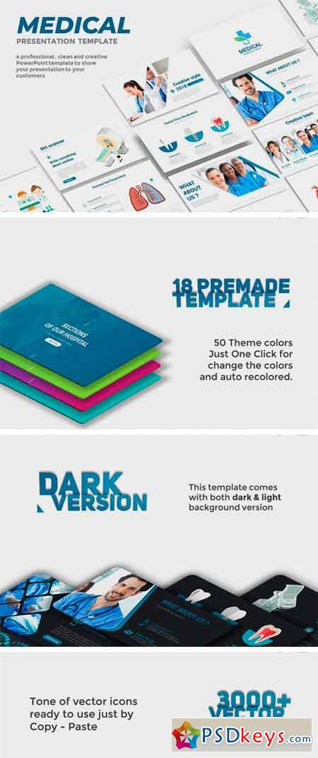 Medical PowerPoint Template 2181753